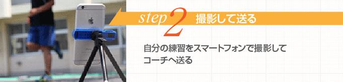 STEP2 撮影して送る
